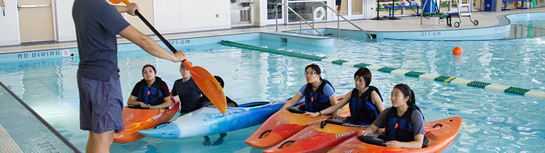 kayak clinic picture